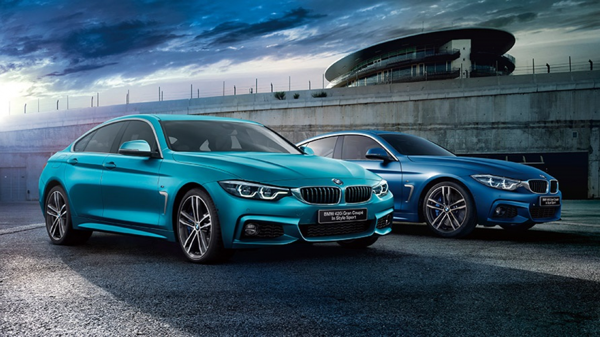 BMW 4 SERIES GRAN COUPÉ IN STYLE SPORT.