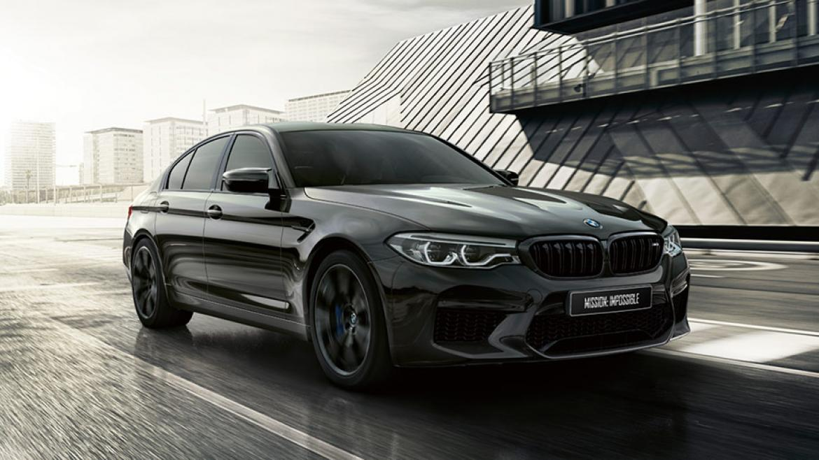 BMW M5 EDITION MISSION: IMPOSSIBLE.